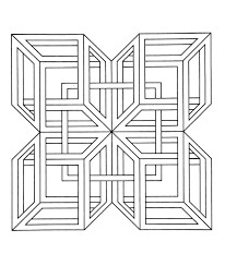get this hard geometric coloring pages to print out 25781
