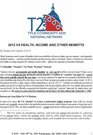 veterans compensation benefits rate tables effective 12 1 17 2012 va health income and other benefits pdf