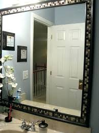 how to frame a bathroom mirror with molding how to frame a bathroom mirror with crown molding inspiring framing