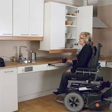 Handicap Accessible Kitchen Cabinets by Special Needs