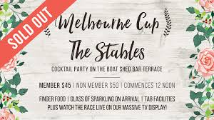 the stables melbourne cup cocktail event belmont 16s