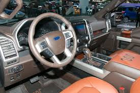 ford king ranch interior standard features particular fuel economy