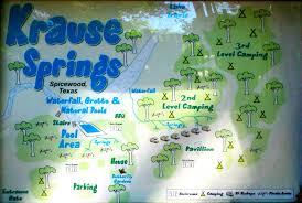Map Of Springs In Florida Krause Springs About Krause Springs