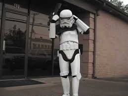how to put on stormtrooper armor youtube