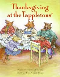 thanksgiving at the tappletons book by eileen spinelli