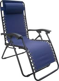 Relaxer Chair Oxford Relaxer Chair Blue