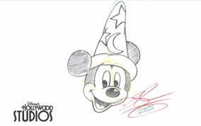 learn to draw sorcerer mickey mouse the disney blog