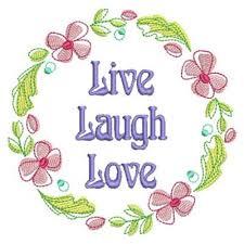 live laugh love live laugh love embroidery designs machine embroidery designs at