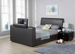 Kingsize Tv Bed Frame Brook Black Tv Bed Frame Dublin Beds