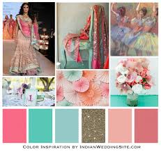 impressionist painting palette u2013 indian wedding color inspiration