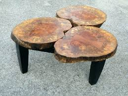 Wood Stump Coffee Table Tree Stump Coffee Table Cioccolatadivino Com