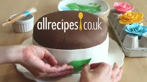 how to make fondant icing video allrecipes co uk youtube