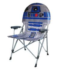 Padded Lawn Chairs Amazon Com Star Wars R2d2 Full Size Folding Hard Armrest Chair