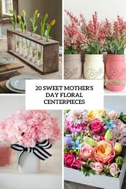 floral centerpieces 20 sweet s day floral centerpieces shelterness