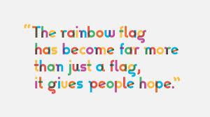 Design A Flag Free Free Font Of The Week Gilbert An Lgbt Design By Fontshelf