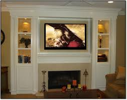 built in with fireplace and tv design ideas rolitz