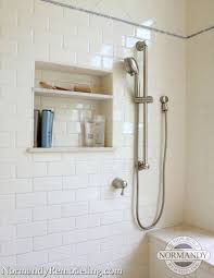 making the case for a handheld shower normandy remodeling