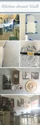 the roses stencil blooms on a kitchen accent wall stencil stories