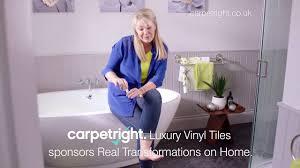 Carpetright Laminate Flooring Reviews Carpetright Luxury Vinyl Flooring With Lucy Alexander Youtube