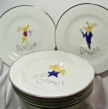 christmas plates pottery barn christmas plates ebay