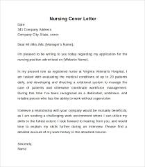 cover letter nursing nursing cover letter exle 10 free documents in pdf word