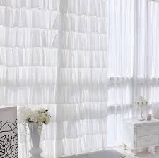princess yarn room divider girls ruffle curtains