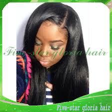 7a unprocessed brazilian u part wig silky straight left side part