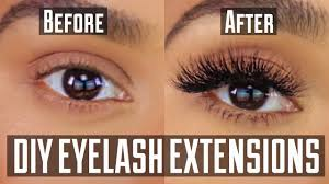 6 Real Work From Home Diy Permanent At Home Eyelash Extension Application Youtube