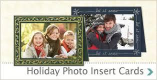 photo insert christmas cards card invitation design ideas photo insert greeting cards black