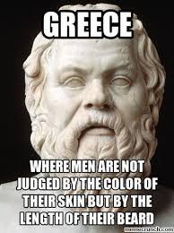 Greek Meme - philosophy