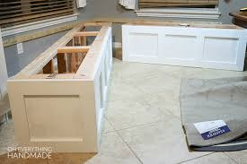 kitchen nook furniture how to build a kitchen nook bench oh everything handmade