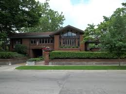 david m amberg house 1910 grand rapids michigan prairie style