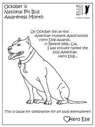 pitbull pictures color free coloring pages art coloring pages