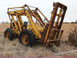 pettibone super 6 all terrain forklift item l6575 sold