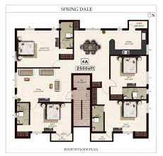 2500 sq ft 4 bhk 4t apartment for sale in india spring dale anna