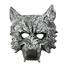 halloween werewolf props new arrival horror masquerade masks 3d animal halloween mask