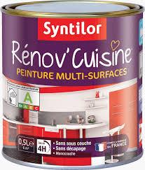 peinture pour meuble de cuisine stratifié meubles de cuisine en bois brut a peindre v33 gamme rnovation