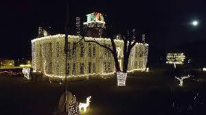 johnson city texas christmas lights johnson city tx christmas 2016 youtube
