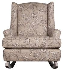 Chair And A Half Rocker Recliner Studio 47 Wendy Upholstered Rocking Chair Morris Home
