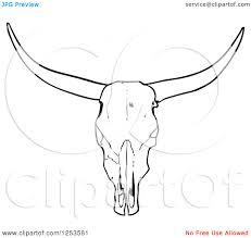 simple cow skull tattoo stencil p3 icons u0026pattern pinterest