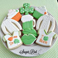 day cookies st s day cookies sugar dot cookies handmade