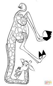 Melman Coloring Free Printable Coloring Pages
