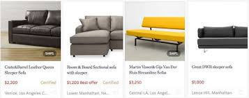Studio Sleeper Sofa The Best Sleeper Sofas Sofa Beds Apartment Therapy