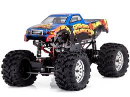 rc monster truck racing redcat racing ground pounder 1 10 scale brushed monster truck rc