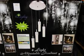 Costco Led Light Fixture Costco Clearance Dsi 4 Adjustable Glass Pendant Led Light
