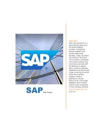 sap hcm mini project report on design enterprise structure in pers u2026