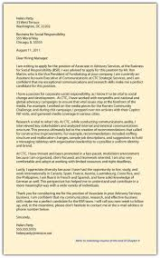 communications job cover letter step 2 continued create a compelling marketing campaign part