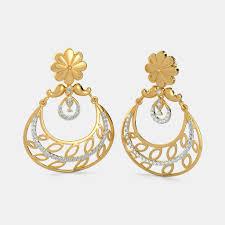 chandbali earrings online buy chand bali jewellery designs online in india 2018 bluestone