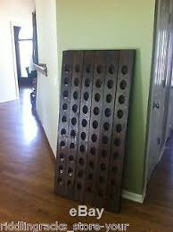 old oak champagne riddling rack for 60 wine bottles winerack