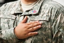 Can You Wear The American Flag As Clothing Military Uniform Rules For Retirees And Veterans